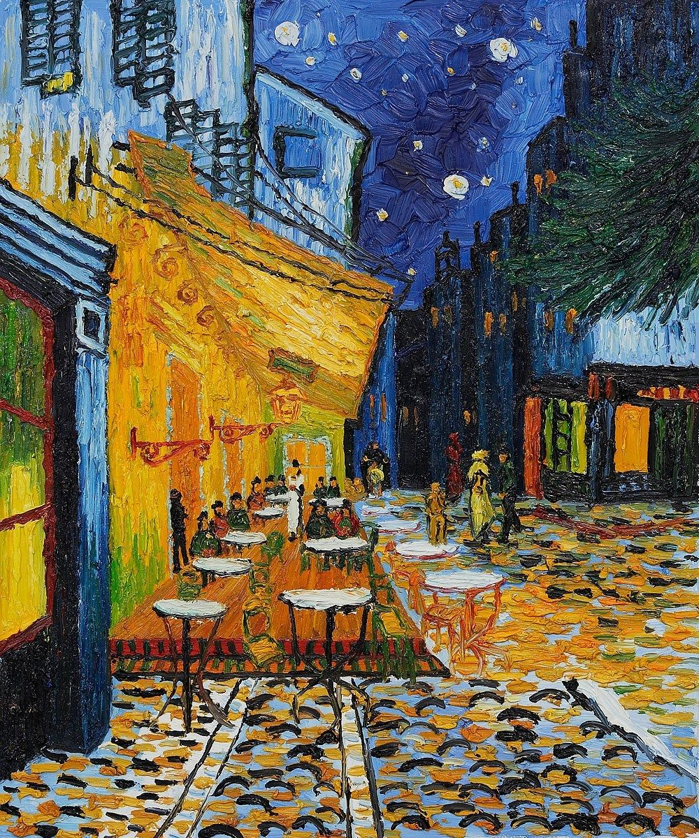 As 50 Pinturas Mais Famosas Do Mundo Pinturas Famosas Van Gogh