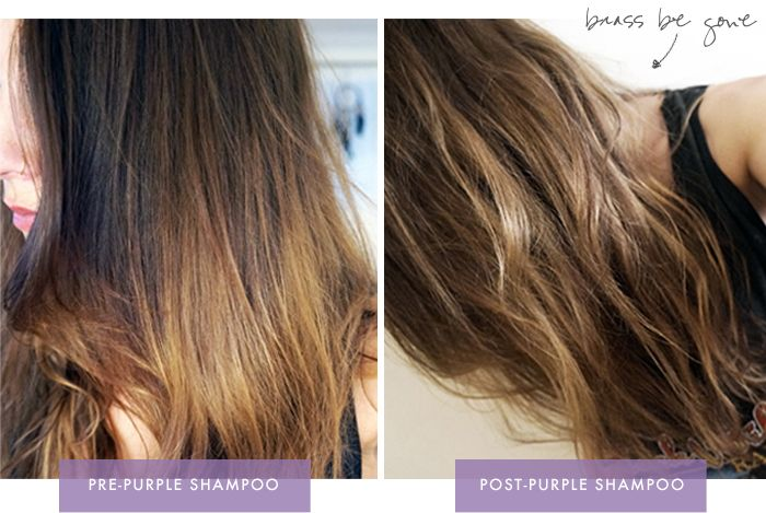 Brunettes Can Def Should Use Purple Shampoo Too Purple