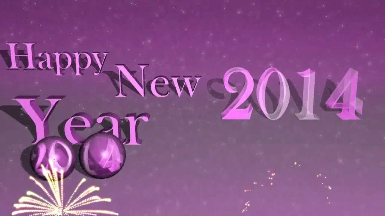New Year Greeting Cards 2014 Send This Animated Happy New Year