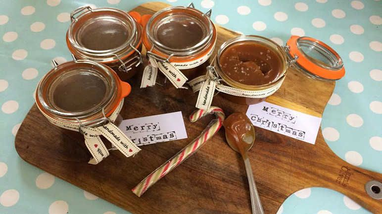 Salted Caramel   Edible gifts, Edible christmas gifts ...