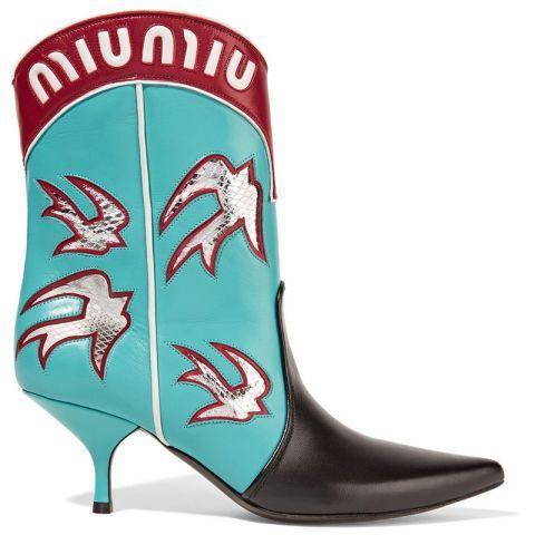 a5e70017b682 Miu Miu Cowboy Boots