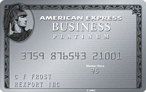 The Business Platinum Card From American Express Open American Express Business American Express Card Credit Card Points