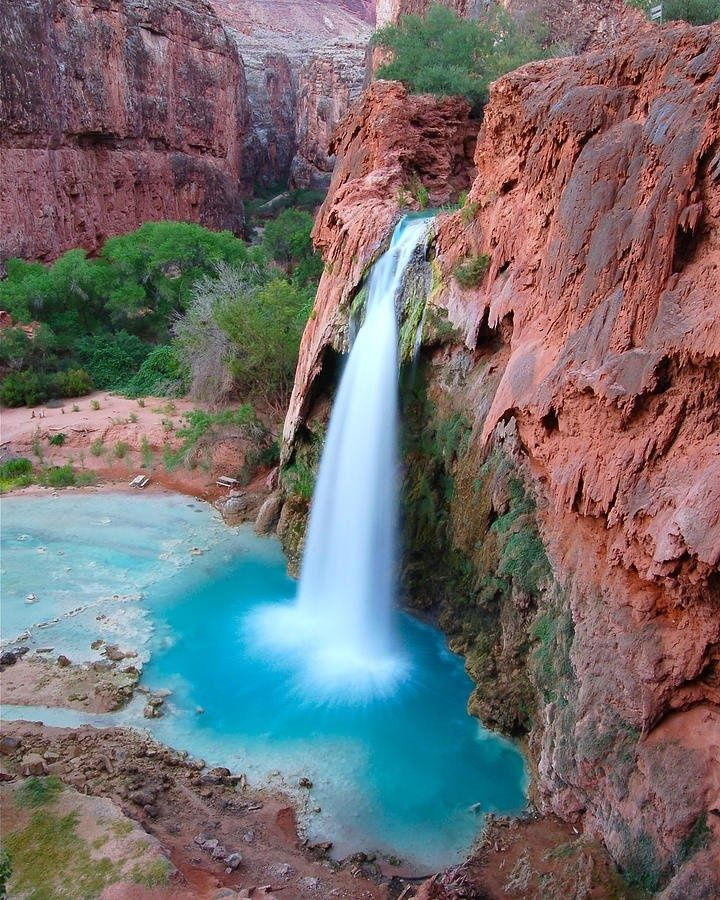 Places To Visit In The Fall In Usa: Havasu Blue, Arizona It Has Changed Since The Big Storm