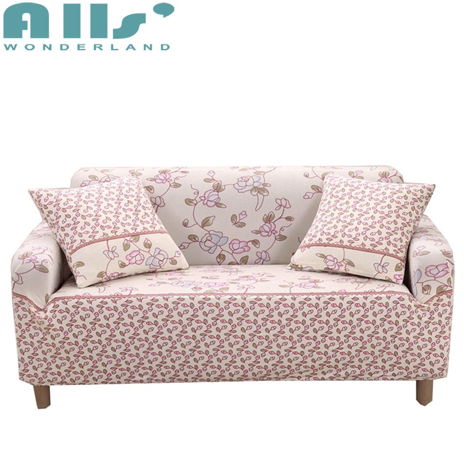 Superb Flower Slipcover Sofa 3 Seat Couch Covers Spandex Sofa Gmtry Best Dining Table And Chair Ideas Images Gmtryco
