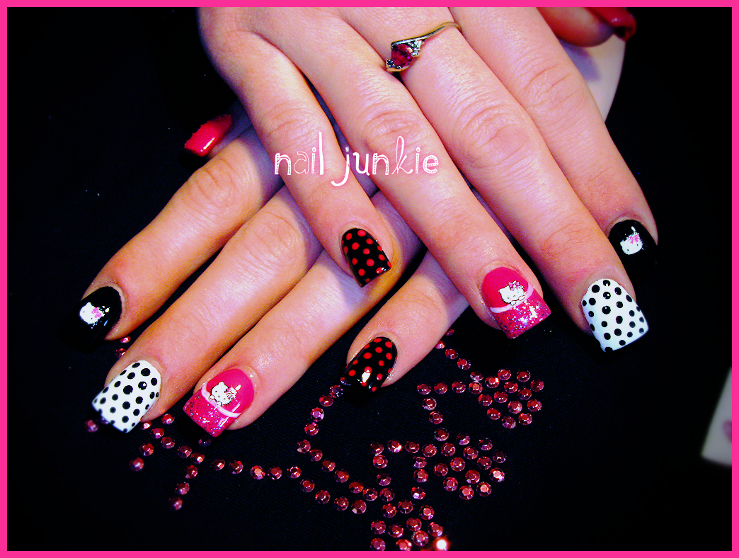 Hello kitty gel nail designs images nail art and nail design ideas hello kitty gel nail designs image collections nail art and nail hello kitty gel nail designs prinsesfo Images