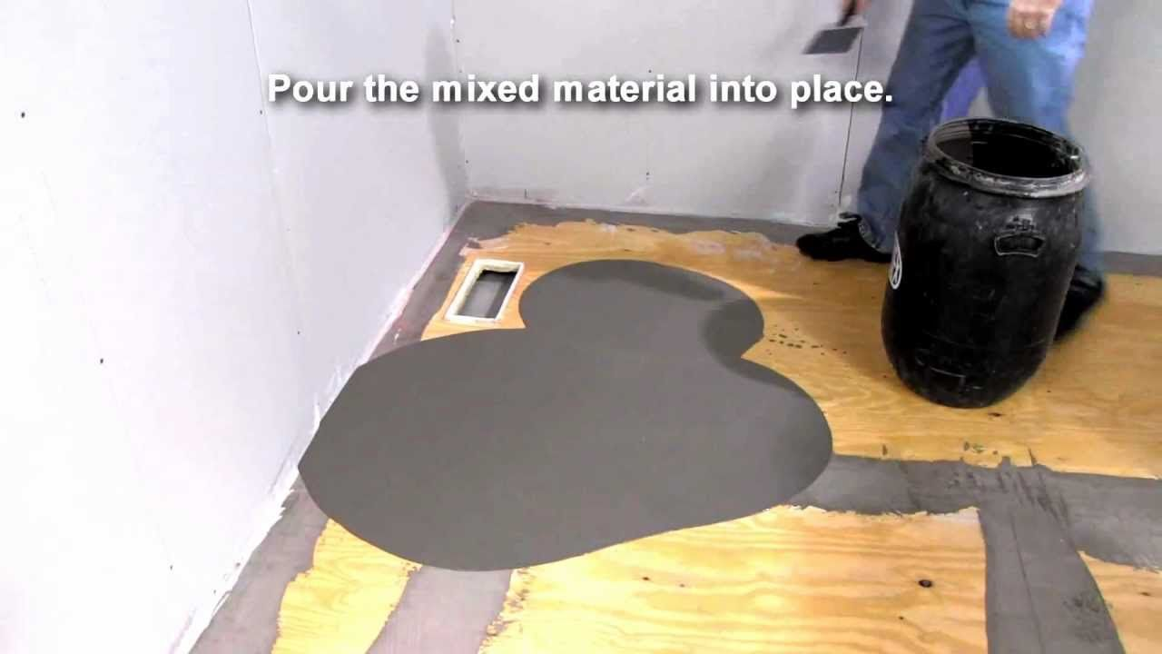 ARDEX Liquid BackerBoard™ Self-Leveling Underlayment ...
