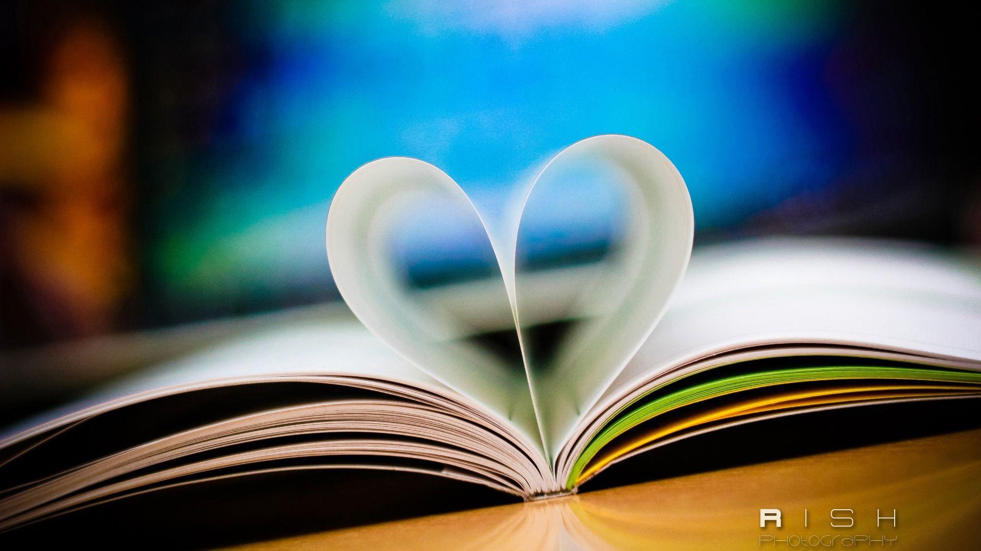 Love Book Hd 1080p Wallpapers Download Book Wallpaper