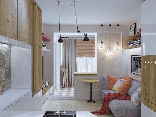 4 idées pour aménager un petit appartement de 30m2 Small