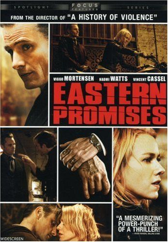 Eastern Promises - I'm not sure how much I actually cared about this film. I decided to watch it because I liked the soundtrack so much... and since the soundtrack is so memorable, I guess I'll pin this on my movies board.