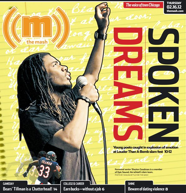 February 16, 2012: The Mash profiles young poets participating in the Louder Tha...