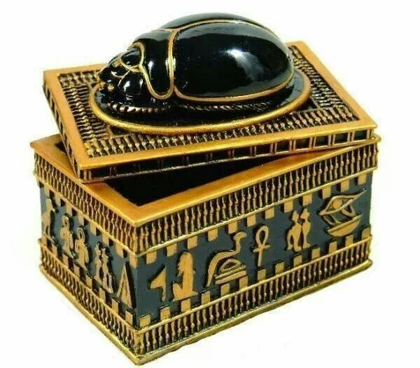 Jewellery Box Egypt Egyptology Pinterest Egyptian