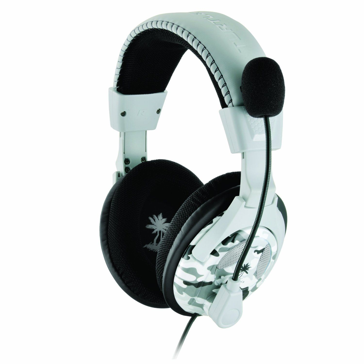 Turtle Beach Ear Force X12 Arctic Amplified Stereo Gaming Headset ...