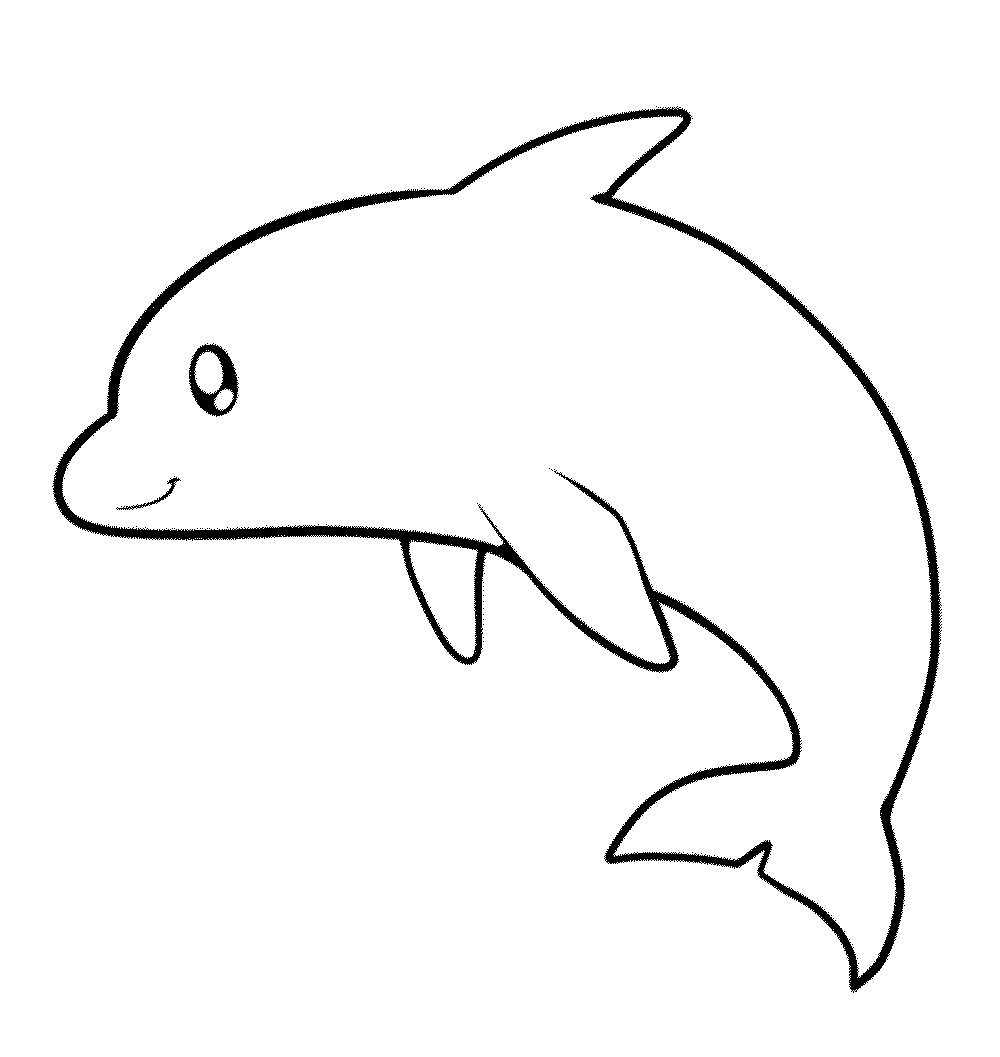 My Experience Of Making Dolphin Coloring Pages Easy Dolphin Coloring Pages Animal Templates Coloring Pages