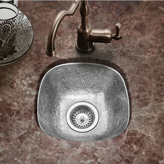 Bar Sinks Hammerwerks Schns Prep Sink W 3 Drain Opening By Houzer Kitchen Accessories Unlimited