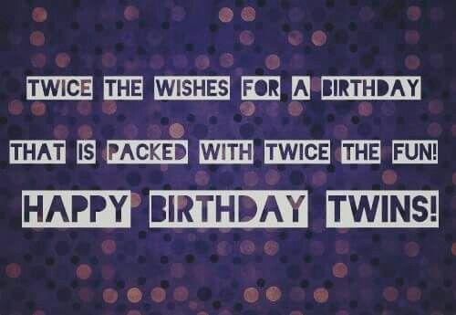 Verjaardag Tweeling Volwassen.Verjaardag Tweeling Tweeling Verjaardag Verjaardag En