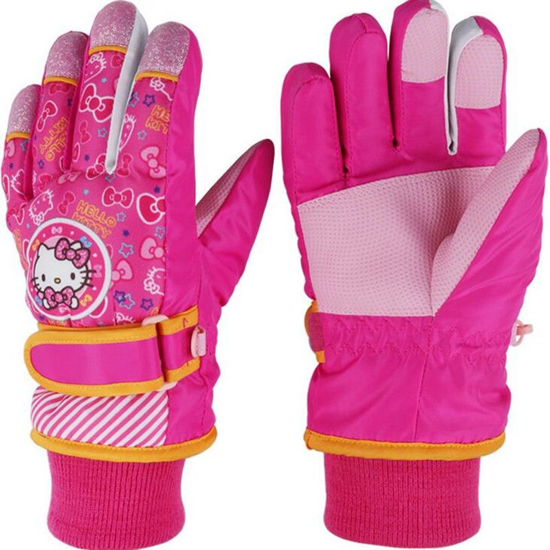 great deals outlet for sale outlet for sale Kids Full Finger winter warm skiing snowborad gloves boys ...
