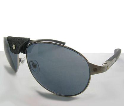 1f9f4ca5b6b37 Cartier Santos-Dumont T8200676 Edition Sunglasses In Silver ...