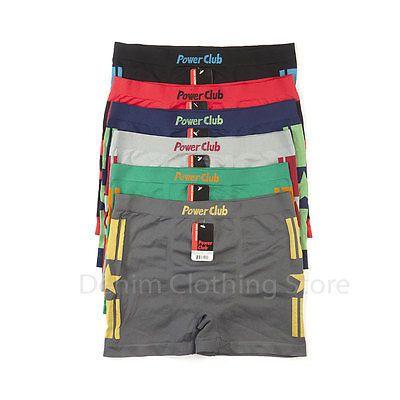 Lot-Of-6-or-12-Men-Seamless-Boxer-Briefs-Knocker-Microfiber-Underwear-Wholesale