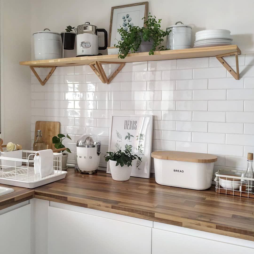 20 Idées Déco pour Cuisine Scandinave en 20  Idée déco cuisine