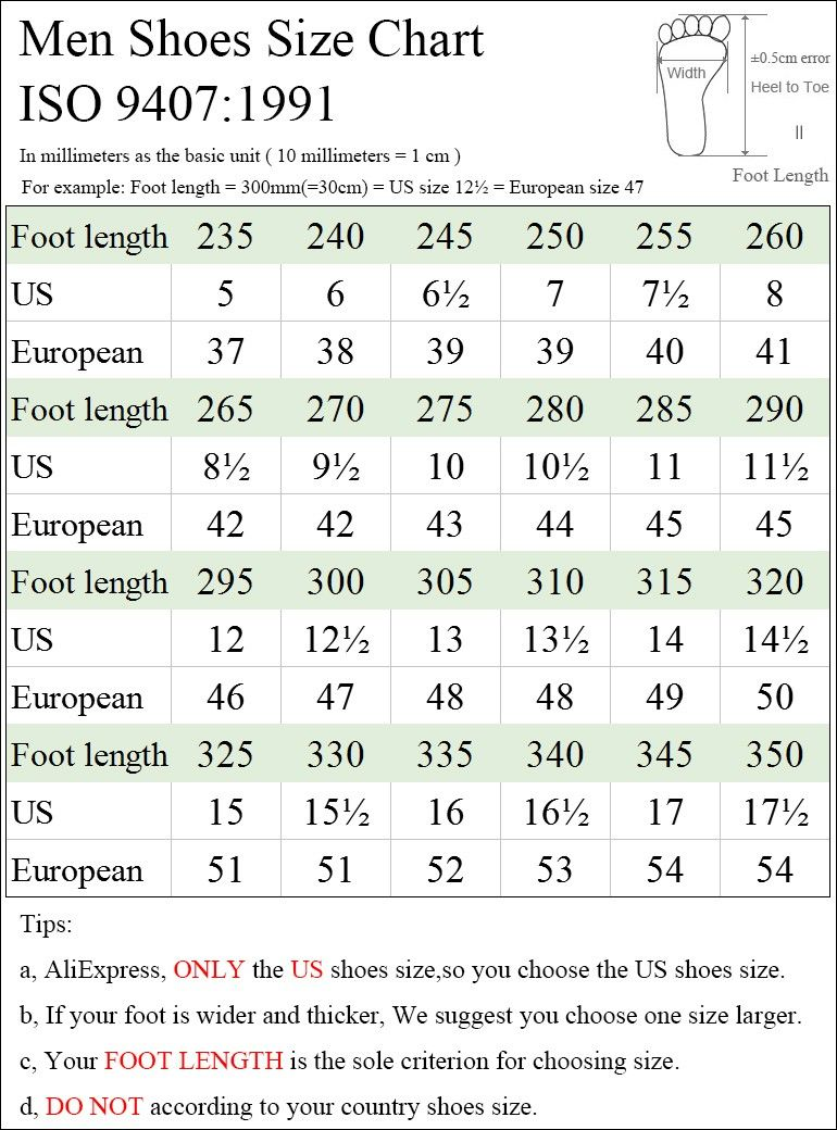 22.5-28.5cm Sandals Men Casual shoes