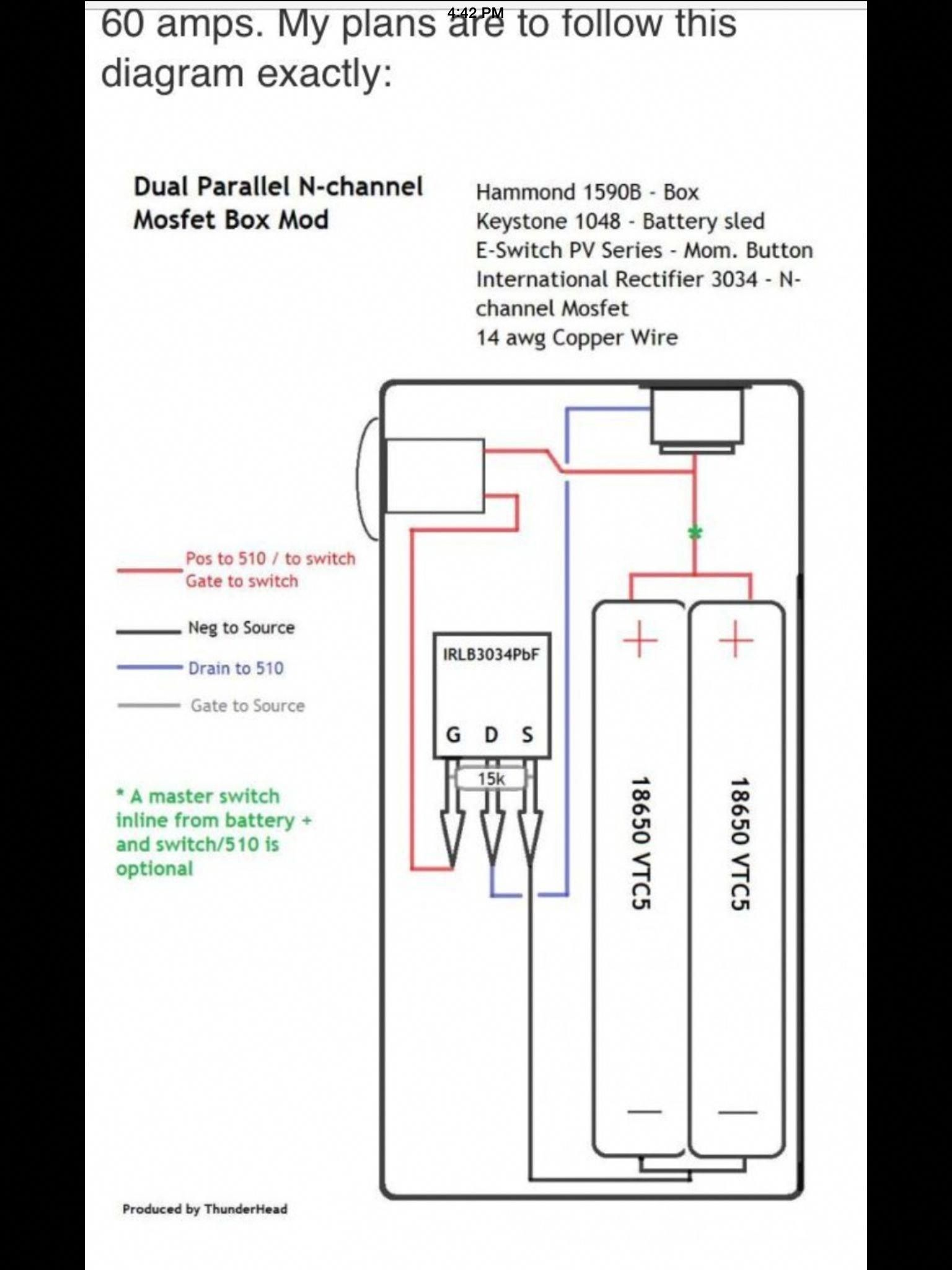medium resolution of mod box diagram wiring diagram load dual parallel mosfet box mod diagram customecigmods e cigs in