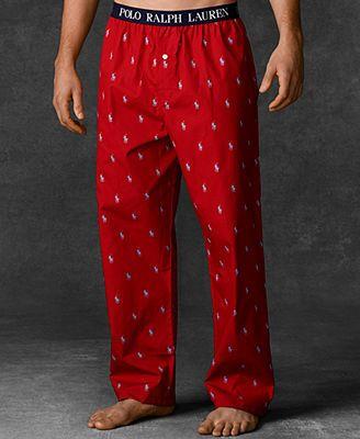 61cc4166 Polo Ralph Lauren Men's Polo Player Pajama Pants | Stuff to Buy ...