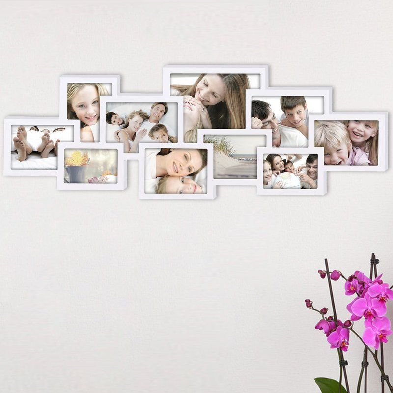 AdecoTrading 10 Opening Collage Picture Frame & Reviews | Wayfair ...