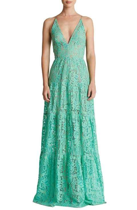 beef8ad272 Dress the Population Melina Lace Fit & Flare Maxi Dress | Pretty ...