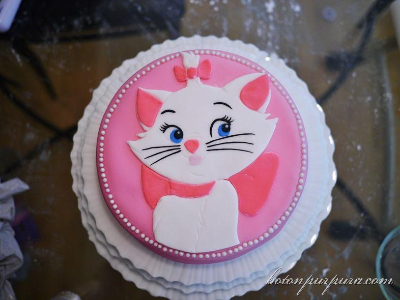 Pastel De Cumpleaños Marie (Aristogatos)