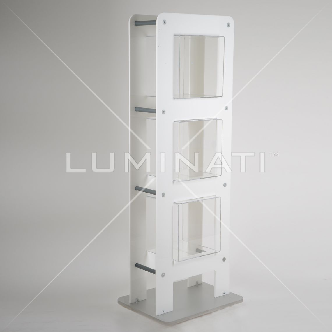 Exhibition Stand Shelves : Exhibition stand concept with billboards shelves booths displays