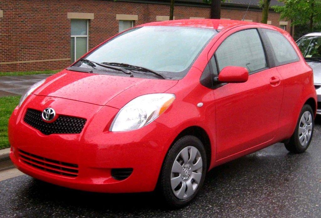 Toyota Yaris 3door Mobil, Gambar, Merah