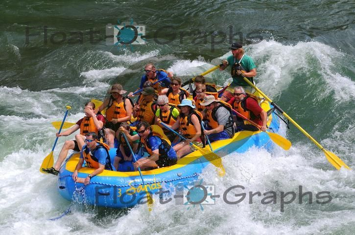 On the Snake River with Sands Whitewater