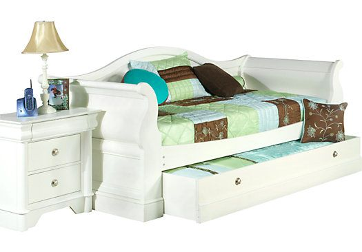 For A Oberon White 3 Pc Daybed At Rooms To Go Kids Find That Will Look Great In Your Home And Complement The Rest Of Furniture