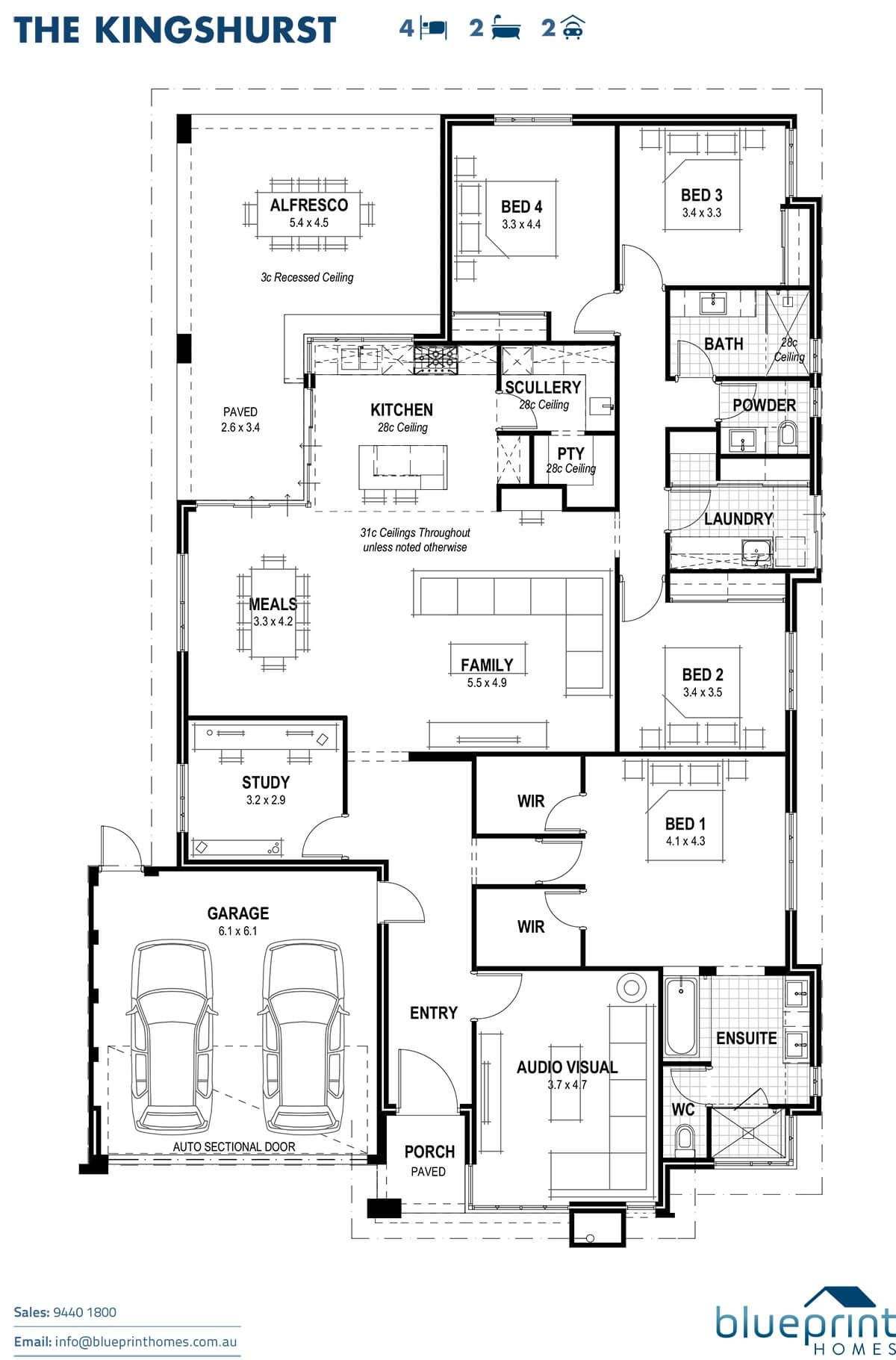 Display home haynes the kingshurst dream home pinterest the kingshurst floorplan malvernweather Gallery
