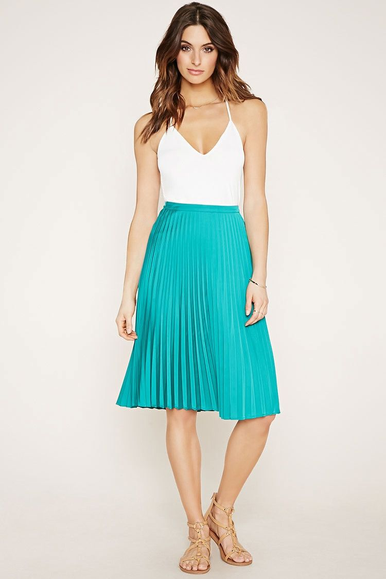CONTEMPORARY PLEATED SKIRT. #style #outfit #trend #onlineshop ...