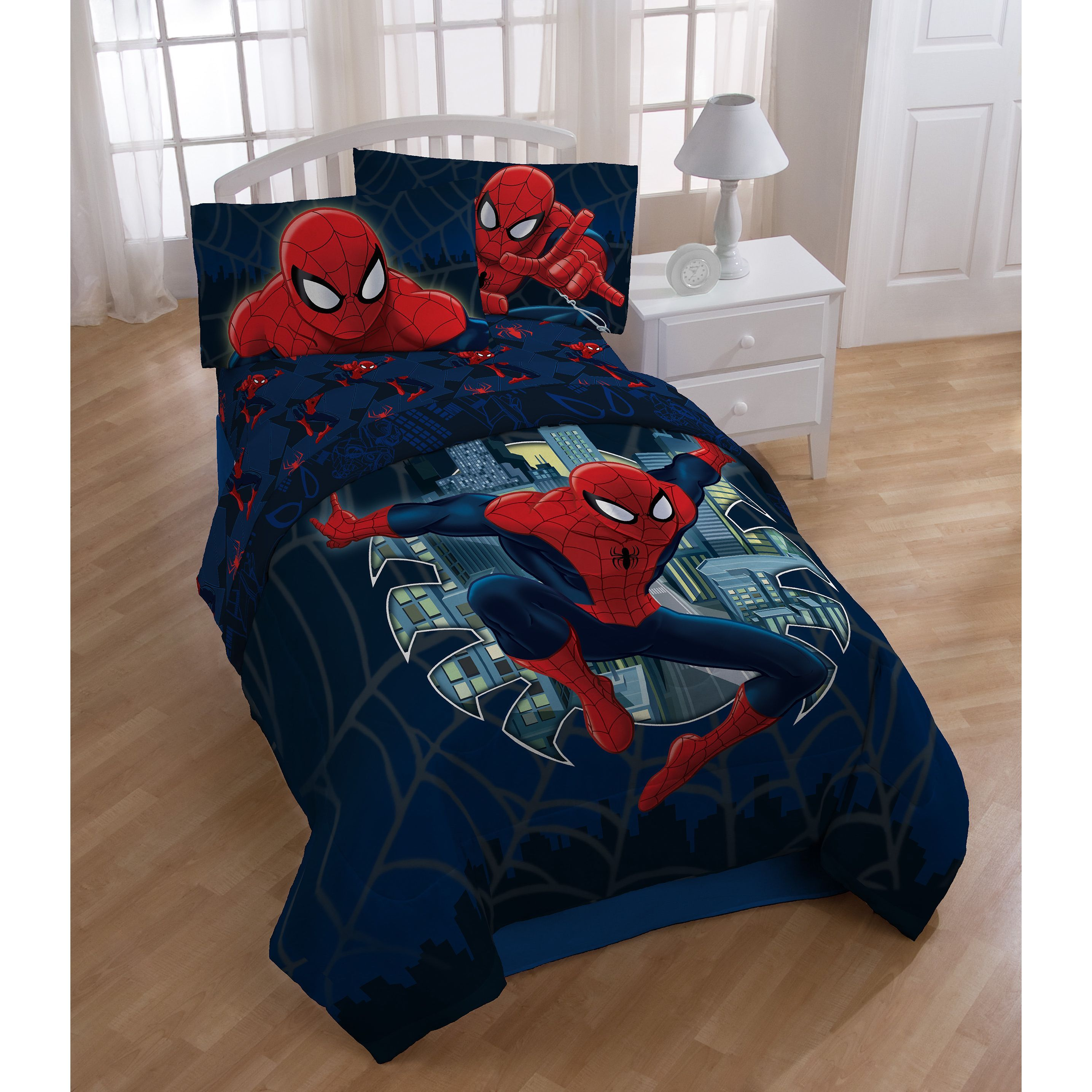 With A Fun Spiderman Design And Comfortable Yet Durable Polyester