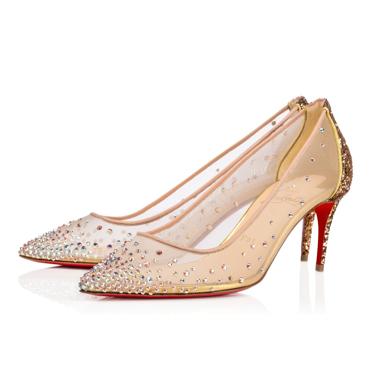 christian louboutin crystal shoes cheap