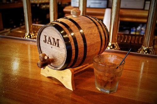 Personalized Mini Bourbon Whiskey Barrel