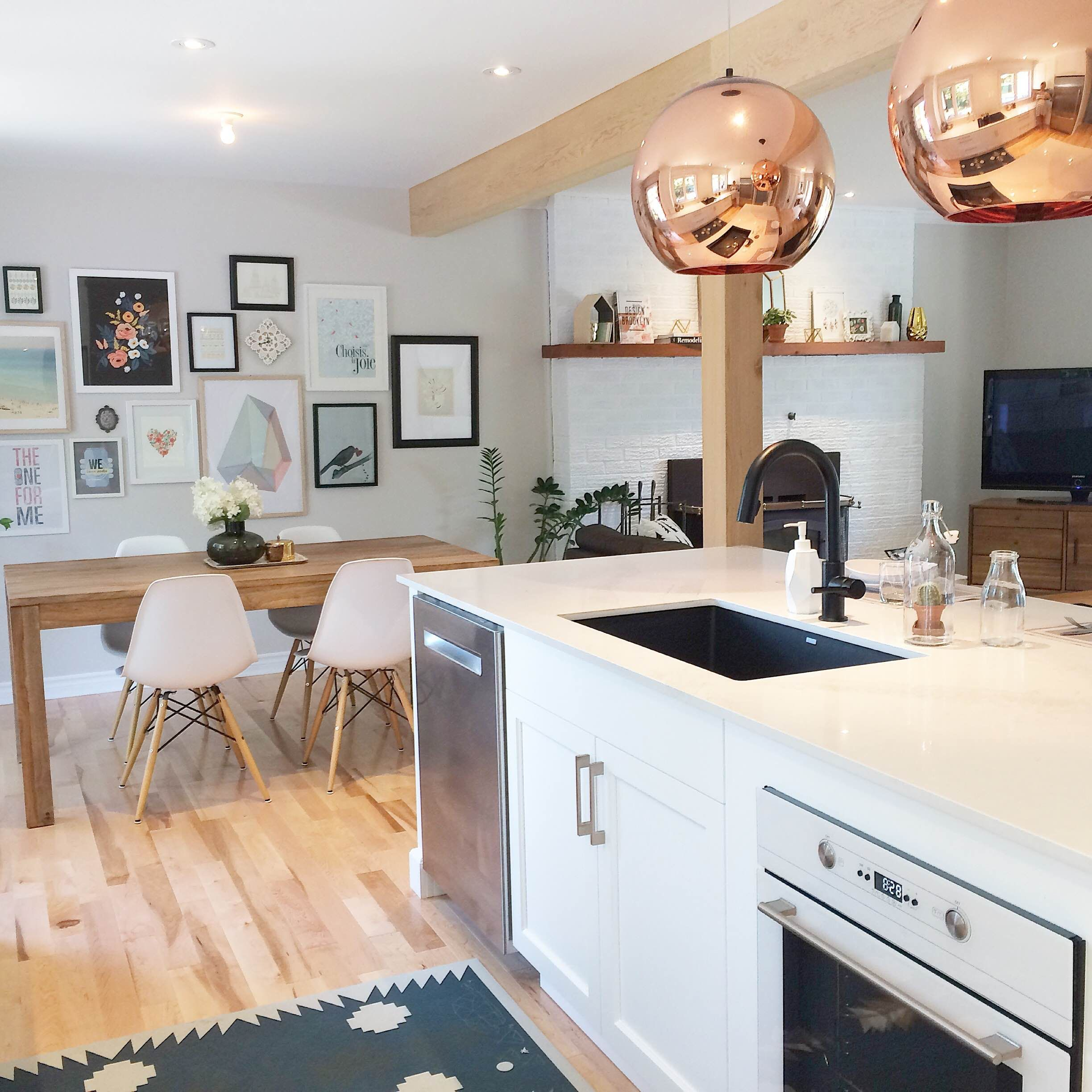 Cute kitchen belle cuisine buk nola interiordesign Belle cuisine moderne