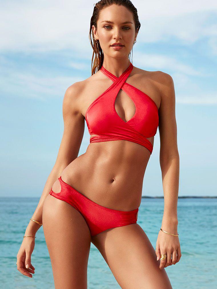 Rojos Para nuev Bikinis Victoria El Verano Secret Coleccion De T1JlcKF3