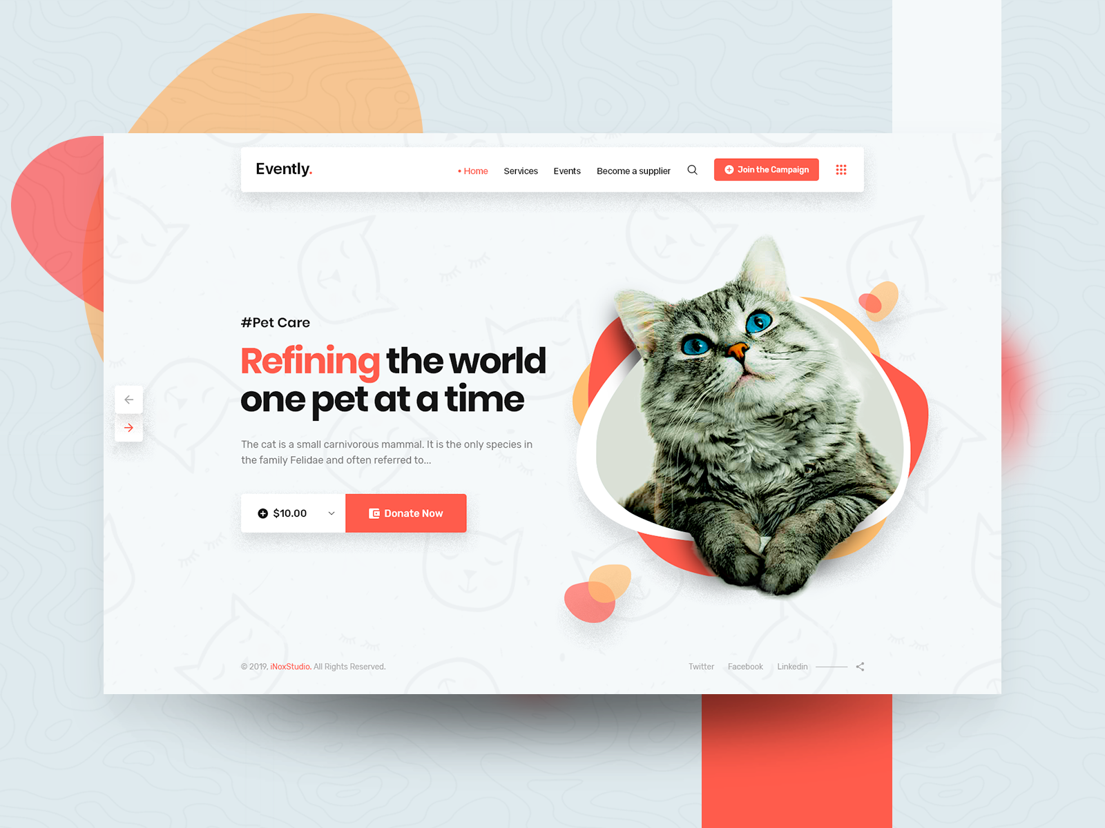 Pet Shop And Veterinary Template Pet Shop Pets Web Design