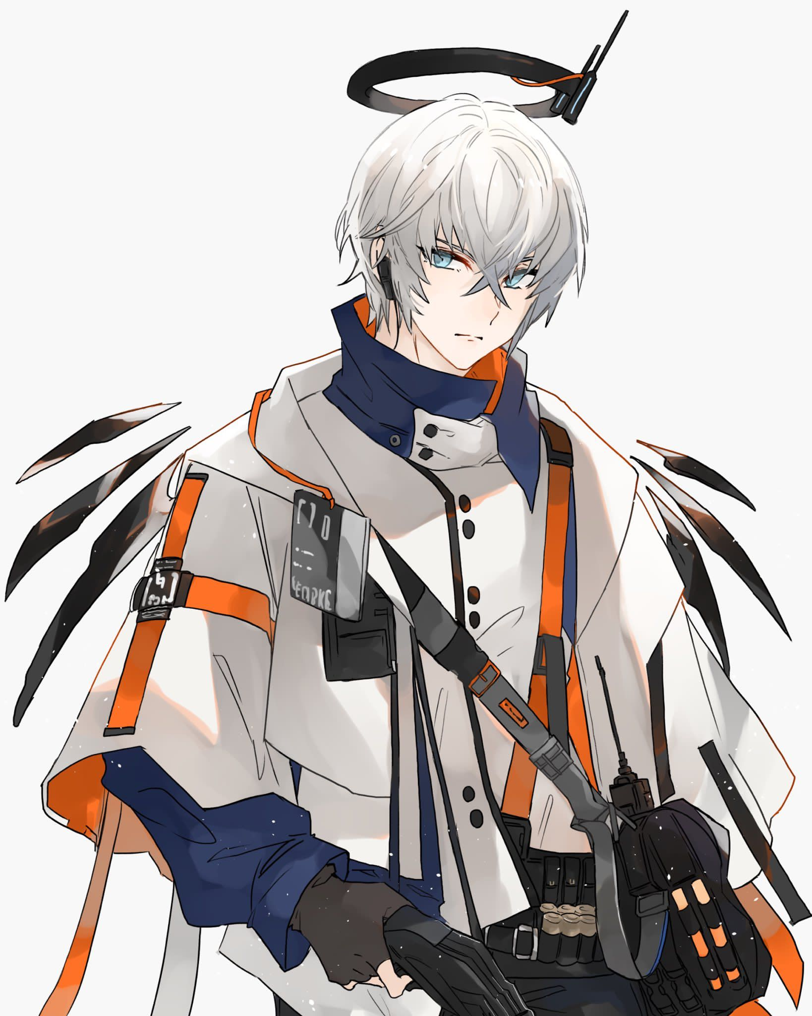 Pin By Mydream Denmon On Arknigts In 2020 Anime Wolf Girl Anime Character Design Anime Boy