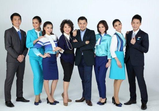 Bangkok airways uniform 1 of 7 most outstanding flight for Spa uniform bangkok