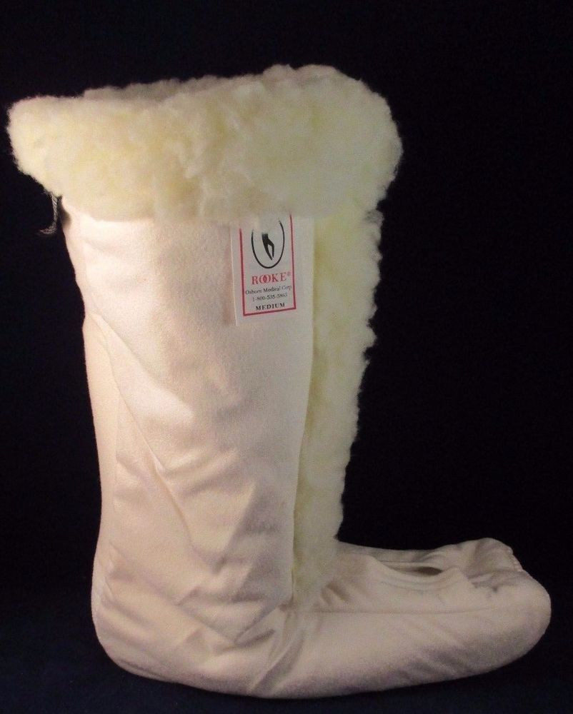 Heel Float System Thinsulate Faux Sherpa Hfs Boot Brace Liner Med