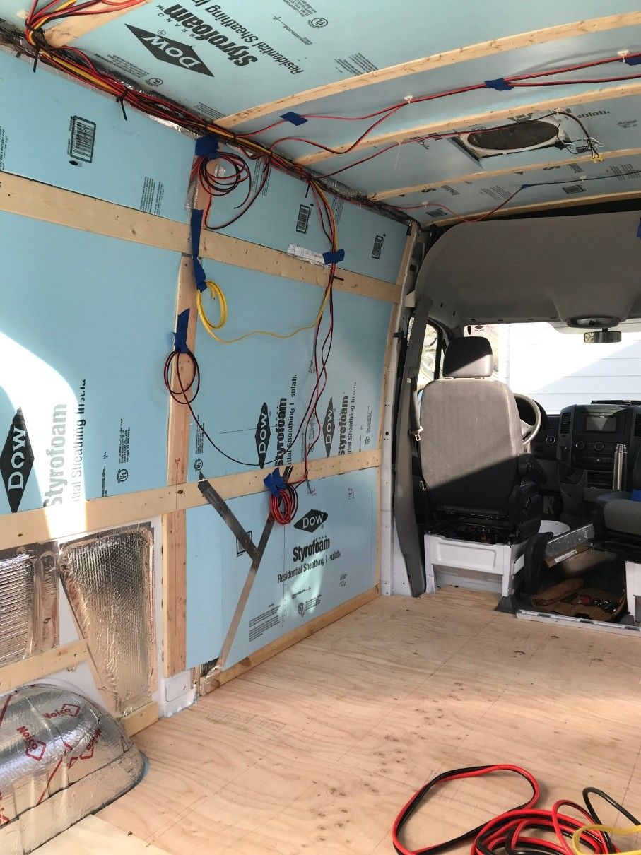 camper van solar panels electrical system with wiring diagram  [ 907 x 1210 Pixel ]