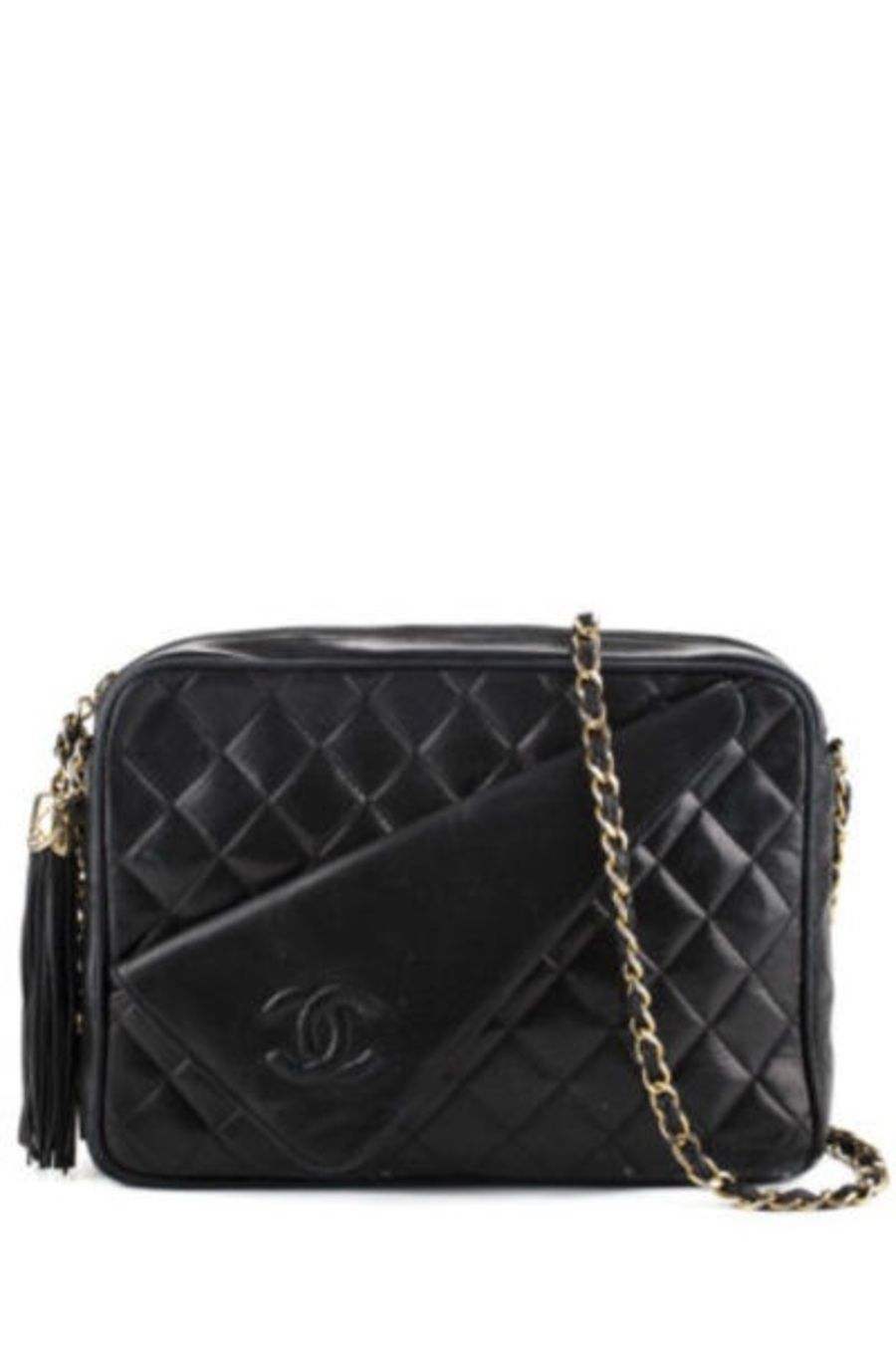 3a21b00be5ed $995 Vintage Chanel Lambskin Camera Bag - Buy at http://www.newfoundluxury
