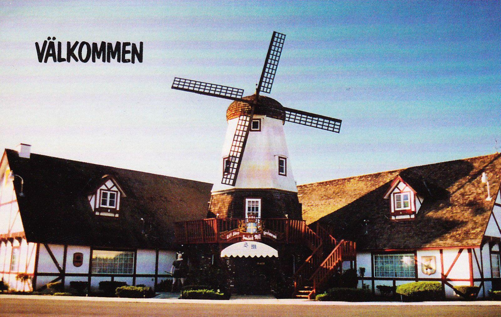 Swedish Mill Restaurant Kingsburg California Vintage Postcard Unused Ebay Ferry Building San Francisco Vintage Postcard Kingsburg