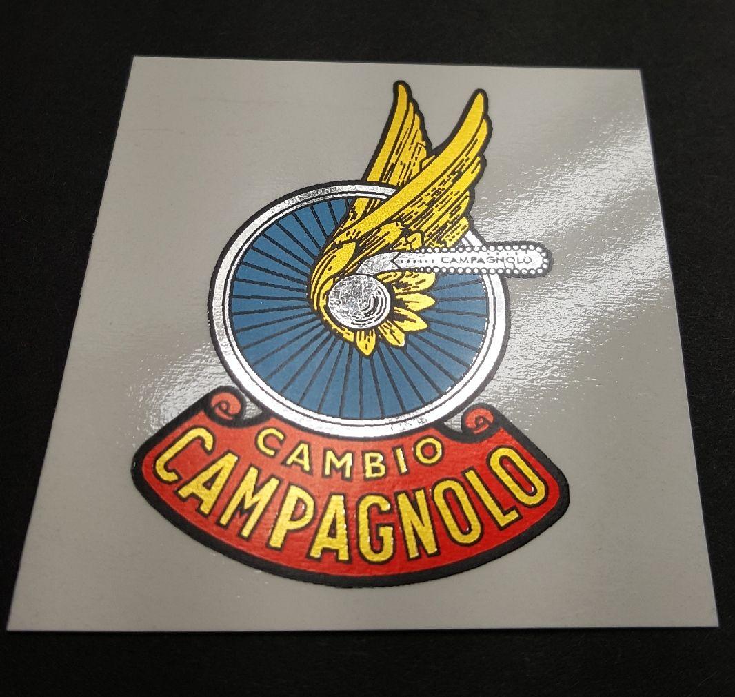 Campagnolo Shield Logo Bike Frame Decals