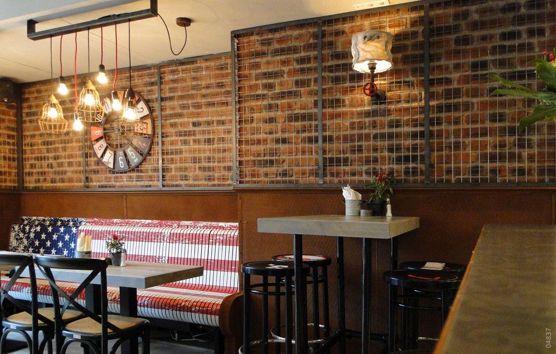 Ladrillo Loft restaurant backstein ladrillo loft steinwand restaurant