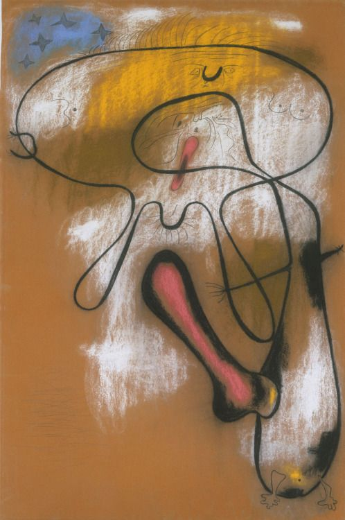 Joan Miro. the lovers, 1949